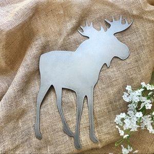 Moose Metal Yard Art- Handcrafted